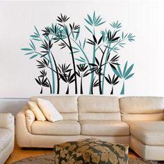 Adesivo Decorativo - Adesivo de Parede: Bambu - Deccolar Adesivos Decorativos