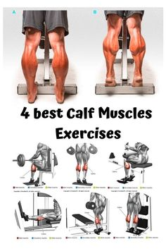 🔥 BUILD-A-CALF ✅ calf workout the for 4 best calf muscles at home or at gym tattoo calf exercises calf calves calf stretches calf workout mens calf workout bigger calf workout muscle calf workout at home gastrocnemius muscles Fitness Workouts, Leg Workouts For Men, Workout Routine For Men, Gym Workout Tips, Strength Training Workouts, Chest Workouts, Sport Fitness, Muscle Fitness, Calf Workouts