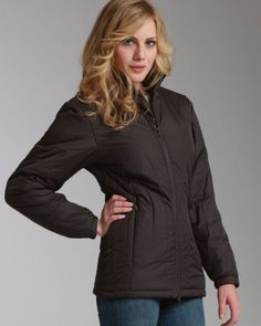 Charles River Apparel Women`s Quilted Jacket. 5182