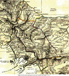 Map of Ancient Samnium