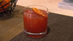 Scarpetta Restaurants Signature Cocktail: SAN REMO 1 ½ oz. Carpano Antica,1 oz. St. Germain,1 oz. Campari,½ oz. Bourbon (any kind),1 oz. Orange Juice ½ Lime, squeezed,Orange (to garnish)