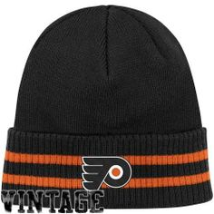 Mitchell and Ness - Philadelphia Flyers Cuffed Beanie in Team Primary Color, Size: O/S, Color: Team Primary Color Mitchell & Ness. $23.95