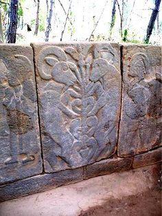 Hittite tree of life pictograph Karatepe, Turkey