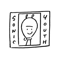 Sonic Youth. #sonicyouth #mikekelly #newyork #yunagaba #kaerusensei #長場雄