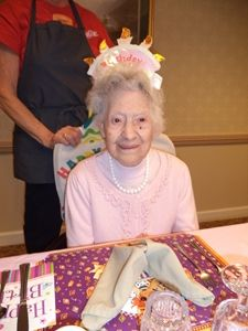 Celebrating 107 Years: Happy Birthday, Millie Devins | Sunrise Senior Living