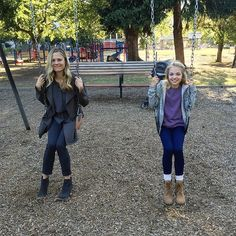 Nothing like some quality mother and daughter time! #Grimm : @ClaireCoffee