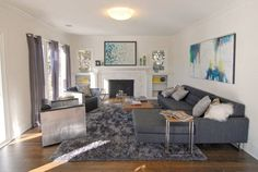 """The """"1919 Cottage Goes 2014"""" Makeover — Makeovers: Pro Renovation Project - Fireplace and built-ins"""