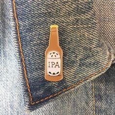 $10 IPA Enamel Pin Soft Enamel Pin Lapel Pin Jewelry by thefoundretail