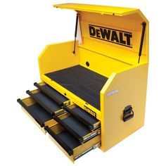Dewalt Tough System 2 Drawer Portable Tool Box Small Parts