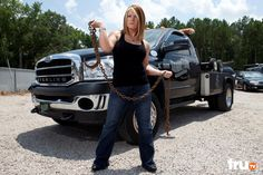 Lizard Lick Towing's Amy Shirley may be married to Ronnie and the mother of his baby, but she's no wilting flower. Check out some of Amy's most action-packed moments!