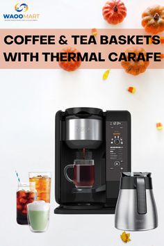 Waomart provides the best Ninja hot and cold brewed system. #coffeemaker #coffeemakeronline #kitchenproduct #product #coffeemakerdesign Best Coffee Maker, Drip Coffee Maker, Coffeemaker, Home Tools, Kitchen Tools And Gadgets, Kitchen Products, Cold Brew, Carafe, Tool Design