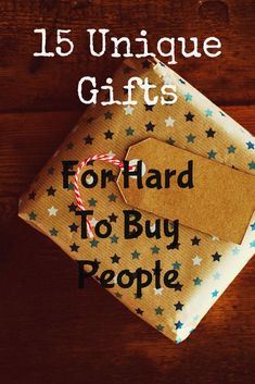 Gifts for hard to buy people can be difficult to come up with. Here is a complete gift guide for the hard to buy for person in your life! gift to buy 15 Unique Gifts For Hard To Buy People - The Greatest Gift Guide 21st Birthday Gifts For Guys, Birthday Ideas For Her, Unique Birthday Gifts, Birthday Gifts For Boyfriend, Mom Birthday Gift, Gifts For Dad, Women Birthday Gifts, Fun Gifts For Women, Cool Gifts For Guys