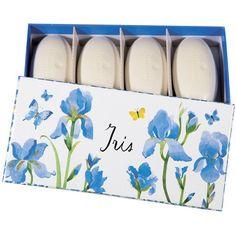 Iris Set of 4 Guest Soaps