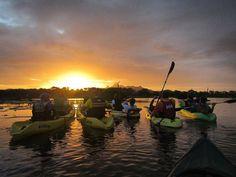 #HoyEnLaIsla @kayak_margarita -  Atardecer en la Restinga hoy viernes 14 de Abril reserva ahora por nuestro correo electrónico kayakmargarita@gmail.com