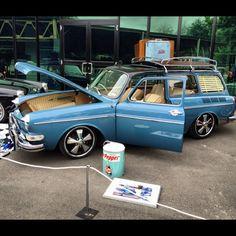 VW Blue Squareback