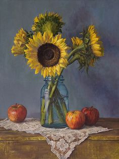 20110709 Sunflowers and Apples 24x18 web | Flickr: Intercambio de fotos