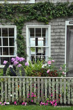 ~Nantucket cottage - Sconset ~ Nauma 1676 by Jan's Art