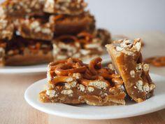 caramel pretzel bars (Kathy :)