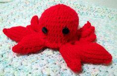 Stuffed Crab  Amigurumi  Sea Animals by flameOfsilver on Etsy, $20.00