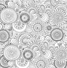 Peaceful Paisleys Adult Coloring Book (31 stress-relieving designs): Peter Pauper Press: 9781441320025: Amazon.com: Books