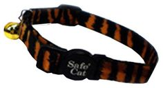Coastal Pet 06781 A TIG12 Adjustable Cat Collar, 12-Inch, Tiger -- Click on the image for additional details. (This is an affiliate link and I receive a commission for the sales)