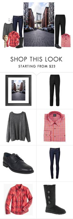 """""""A Christmas Carol. (Chapter 1)"""" by shannaolo ❤ liked on Polyvore featuring Dot & Bo, Ike Behar, Walker & Whyte, J.Crew and UGG Australia"""