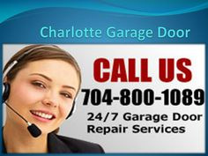 Charlotte Garage Door provide the most reliable top quality garage door products and services at absolutely the most competitive prices in the industry.