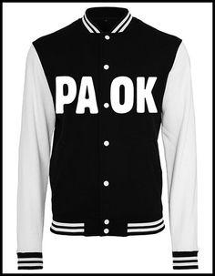 PAOK Saloniki College Jacke