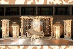 Wedding Hall Decorations, Wedding Stage Design, Banquet Decorations, Wedding Reception Backdrop, Marriage Decoration, Engagement Decorations, Wedding Mandap, Wedding Venues, Marie