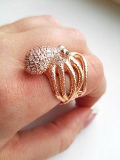 Lisenok777: - Спешу поделится радостью - сегодня я получила свое великолепное кольцо Осьминог. Это ШЕДЕВР! Это потрясающая детализация!