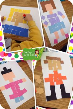 Fraction Fun! Art and math ideas!