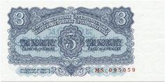 3 Koruny ceskoslovenské 1953 (Wappen),  Tschechoslowakei Dritte Republik