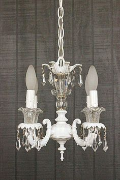 1000 images about custom chandeliers lamps on pinterest - Shabby chic lighting fixtures ...