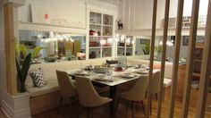 La salle à manger d'Alexandra Diaz Banquettes, Google Design, Scandinavian Interior, Breakfast Nook, Basement Remodeling, Decoration, Vip, Photo Galleries, Sweet Home