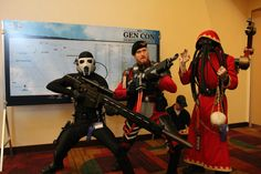 40k Cosplay at Gen Con - Screaming Heretics