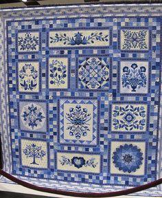 DELFT BLUE QUILT.......................PC