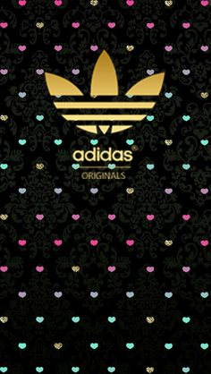 #adidas #black #wallpaper #android #iphone Glitter Wallpaper, Black Wallpaper, Adidas Iphone Wallpaper, Adidas Backgrounds, Original Wallpaper, Live Wallpapers, Background S, Love Art, Adidas Originals