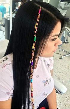 Faux Locs Hairstyles, Blonde Bob Hairstyles, Bun Hairstyles For Long Hair, Girl Hairstyles, Medium Hair Styles, Natural Hair Styles, Long Hair Styles, Thread Hair Wraps, Curly Hair Drawing