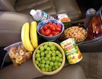 Healthy Road Trip Snacks.
