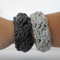 Free tutorial to Crochet bracelets