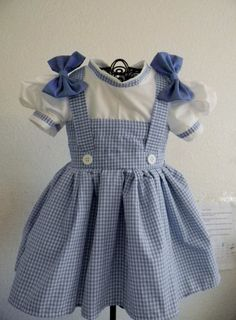 1930's farm girl dress inspired by Dorothy by Heartfeltcostumes, $40.00