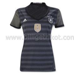 Deutschland Auswärts trikot Damen 2016 €18,90!!Günstige Fußball Trikots