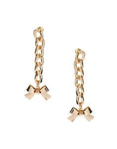 ASOS Chain Drop Earrings $10