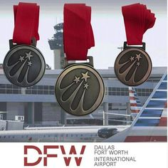 @ultimatepromotions posted to Instagram: #custommedals for the #dallasforthworth airport. We just love the simplicity of this design that uses antique finishes. #aviationart #airlinepilot #sportsawards Sports Medals, Hockey Coach, Custom Awards, Sports Awards, Soccer Coaching, Pin Logo, Aviation Art, Fort Worth, Dallas