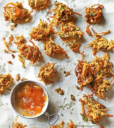 This delightful Indian bhaji recipe is best served with your favourite chutneys.