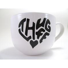 Thug Life Large Cappuccino Mug