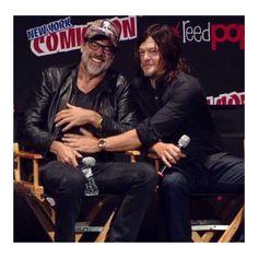 Jeffery and Norman #comicconnewyork2016