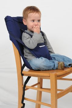 A perfect solution when travelling, visiting friends, family, restaurant etc. Turns any standard chair into a baby seat. Safety Harness Belt, Christmas Fancy Dress, Smart Tiles, Highchair Cover, Baby Chair, One Piece Outfit, Child And Child, Traveling With Baby, Baby Safety
