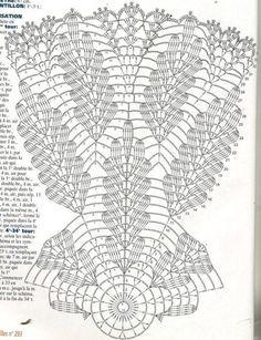 Crochet Lace + Diagrams