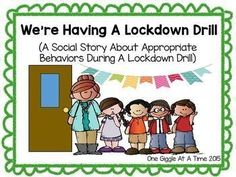 Were Having A Lockdown Drill (A Social Story About Appropriate Behaviors During A Lockdown Drill) is a great way to help students handle the difficult and often upsetting feelings that accompany lockdown drills. This book addresses basic lockdown procedur Effective Classroom Management, Classroom Management Strategies, Reading Strategies, Behavior Management, Primary Education, Special Education Teacher, Autumn Activities For Kids, Spring Activities, Classroom Routines